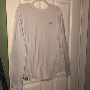 Women's white under armour cold gear